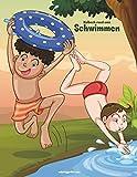 Malbuch rund ums Schwimmen 1 - Nick Snels