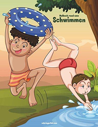 Malbuch rund ums Schwimmen 1