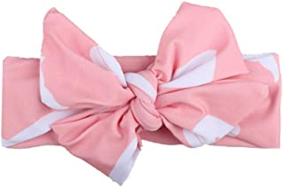 〓COOlCCI〓 Baby Headbands Turban Knotted, Girl's Hairbands for Newborn,Toddler and Childrens