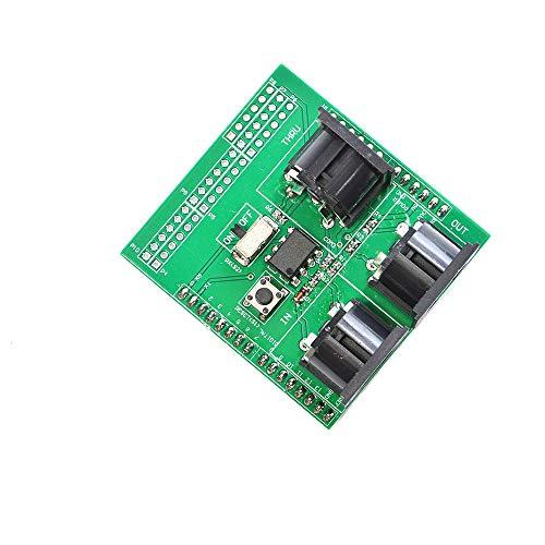 Comimark 1 PCS MIDI Shield Breakout Board für Arduino UNO R3 AVI, PIC Digital Interface Adapter