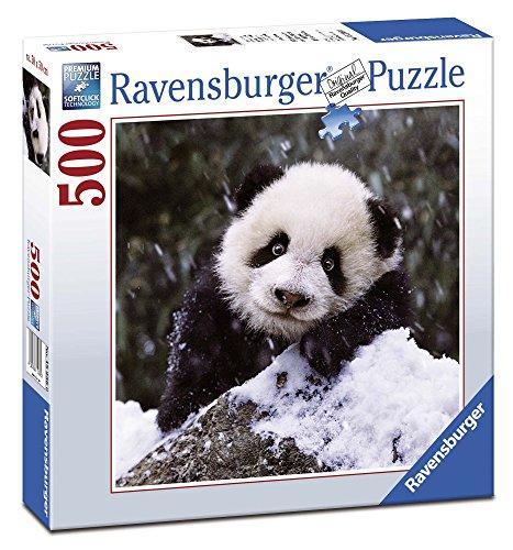 Ravensburger 15236 Puzzle Quadrato Panda, 500 Pezzi