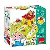 Goula- 3 Little Pigs Juego para Niños, Multicolor (53146)