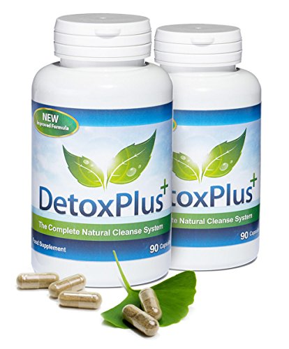 Detox Plus Complete Cleansing System for Bloating, Weight Loss & Cleanse,...
