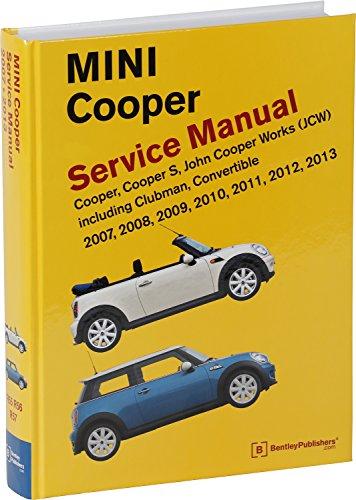 Mini Cooper and Cooper S 2002-2011 Haynes USA Workshop Manual