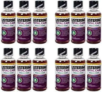 Listerine 3.2 Oz Total Ranking TOP4 12 Freshmint Pack Care Regular dealer
