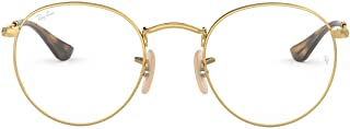 Rx3447v Metal Round Prescription Eyeglass Frames