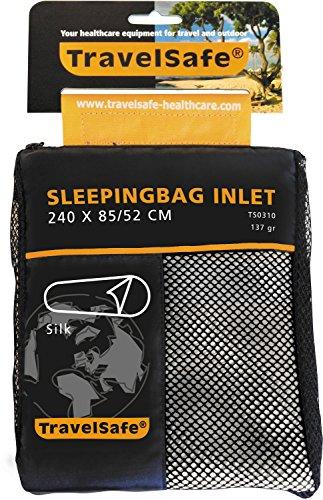 TravelSafe(トラベルセーフ) アウトドア スリーピングバッグ インレット 寝袋 シーツ 布団 シルク TS03100000