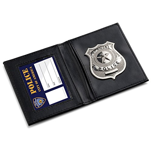 Special Police Badge Costume Badge Chrome Police Badge Security Badge 22480