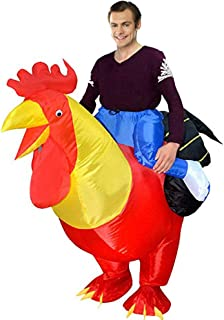blow up chicken halloween costume