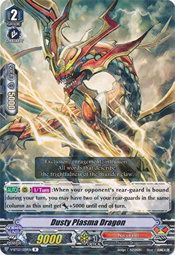 Cardfight 4x V-BT03//080EN Ramzi C Scathing Lightning Spear