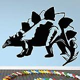 yaofale Nouveauté stégosaure Dinosaure Autocollant Mural Art Vinyle décalcomanie décoration de la Maison Animal Mural Enfants Enfants garçons Chambre