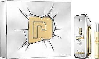 Paco Rabanne 1 Million Lucky 2 Piece Set for Men, Gift Set 3.4oz + 0.34oz