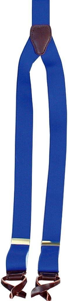 Scully Men's Elastic Y-Back Rangewear Suspender, Royal