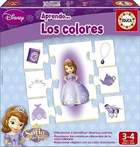Educa Borrás Princesa Sofía - Aprendo los Colores, Juego Educativo 15950