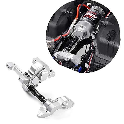 without brand Lt-Model, 1set CNC Metal Pre-Caja de Cambios de Motor Delantero Kit Simulación del Motor V8 for TRAXXAS TRX6 TRX4 G2 Defender Bronco RC orugas Actualiza Piezas