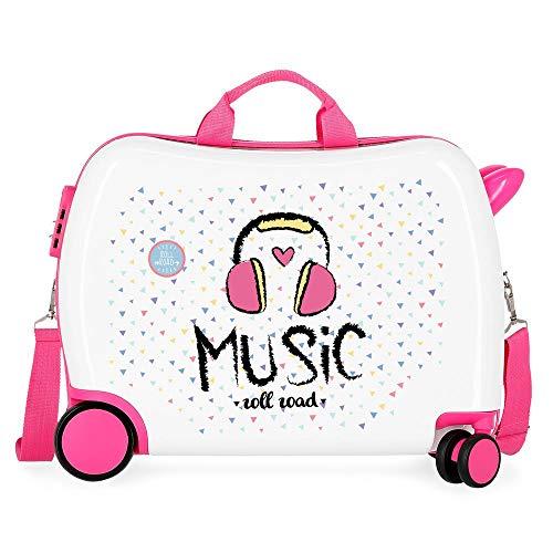 Roll Road Music Kindergepäck 50 Centimeters 34 Mehrfarbig (Multicolor)