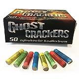 500 Stk. Ghost Cracker knallbunte zylindrische Knallerbsen mit Plastikkörper - Knallteufel...