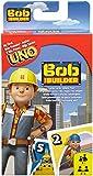 Mattel Juegos DVJ48- Juego de Cartas Uno Junior de Bob el Constructor