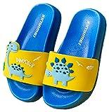 Vorgelen Zapatos de Playa y Piscina para Niños Bañarse Chanclas para Niña y Niño Zapatillas Baño de Estar por Casa Verano Azul Amarillo 22/23 EU = Fabricante 23/160