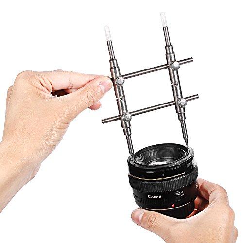 NEEWER Schraubenschlüssel Werkzeug für Kamera DSLR DC Objektiv Reparatur Eröffnung 3K-01