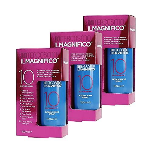 Intercosmo Il Magnifico 10- Mascarilla en espray intensiva, 150ml (3unidades)