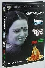 Rekha - A Classic Queen [4 Dvd Combo Set - NTSC] [Umrao Jaan / Kama Sutra / Utsav / Kalyug]