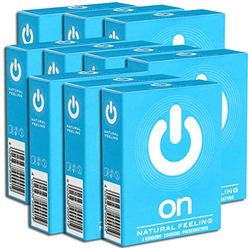 On) Natural Feeling Kondome Sparpack, 30 (10 x 3) Kondome