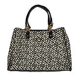 Tommy Hilfiger Large Tote Purse Handbag Black