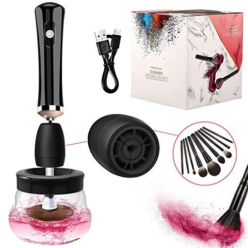 Lyneun Maquillaje Limpiador y secador de brochas,...