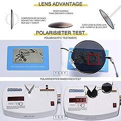FEIDU Polarised Vintage Sunglasses man - Retro Round Sunglasses Unsiex FD3013 #5