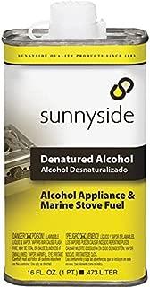 Sunnyside 93416 Denatured Alcohol Solvent, Pint (12-Pack)
