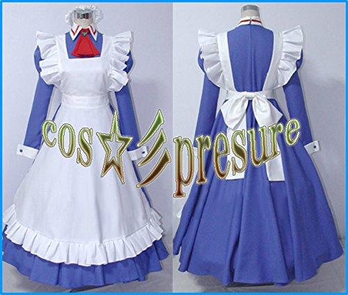 『1682 【cos-presure】ハヤテのごとく! マリアメイド服 風☆彡コスプレ衣装』のトップ画像