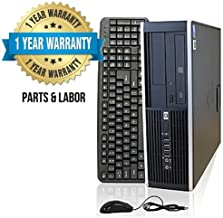 HP Compaq 8000 Elite Small Form Factor PC Tower