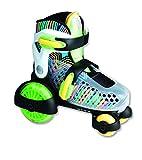 Muuwmi verstellbarer Quad-Skate NEON mit Leuchtrollen