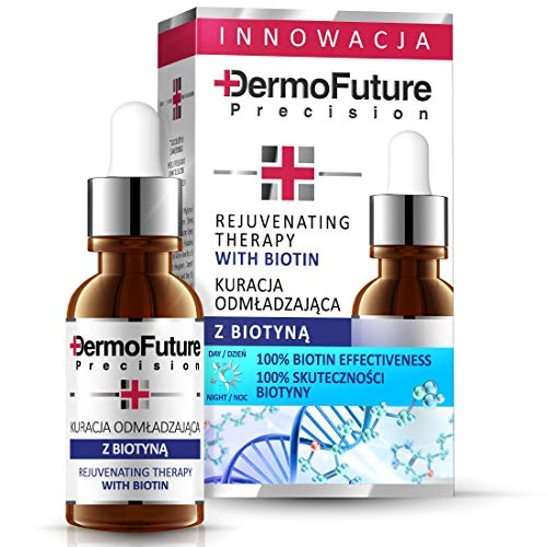 DERMOFUTURE Antifalten Intensiv Serum mit Biotin- Vitamin B7 20 ml