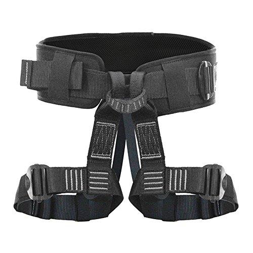 Fusion Climb Teka Tactical Padded Half Body Adjustable Bungee Dance Zipline Harness 23kN M-XL Black