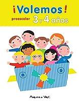 ¡Volemos! Preescolar 3 y 4 Años (Spanish Edition)