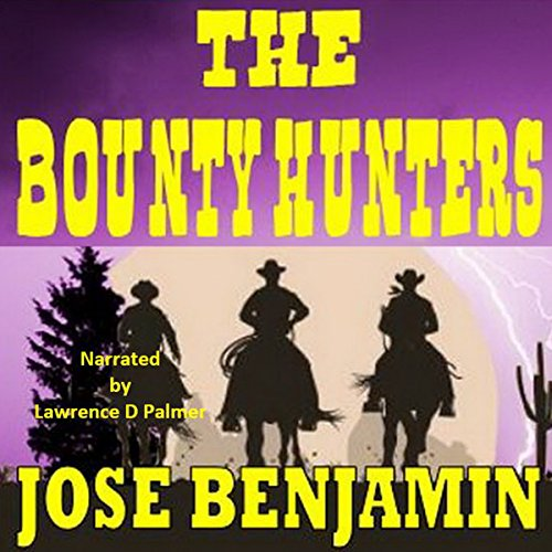 The Bounty Hunters audiobook cover art