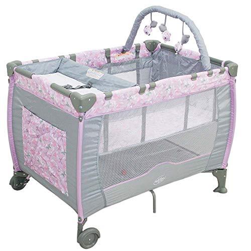 Berço Plus Com Trocador E Mobile Borboleta Baby Style