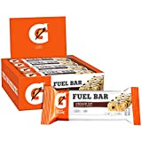 Gatorade Prime Fuel Bar, Chocolate Chip, 45g of carbs, 5g of protein per bar (12 Count), 2.1 oz