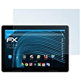 atFolix Schutzfolie kompatibel mit Medion LIFETAB E10604 Folie, ultraklare FX Bildschirmschutzfolie (2X)