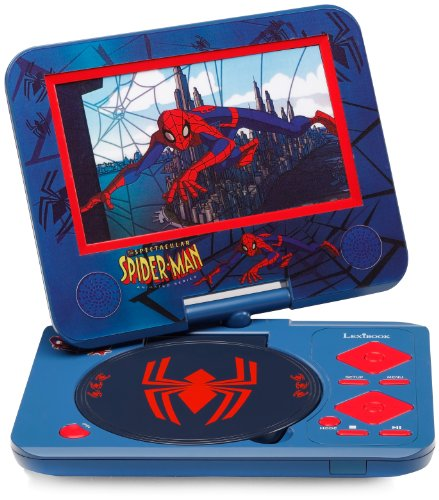 Lexibook DVDP4SP - Tragbarer DVD Player Spider-Man