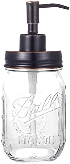 Best oil rubbed bronze mason jar soap dispenser Reviews