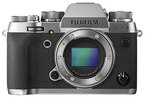 Fujifilm X-T2 Mirrorless Digital Camera Body -...