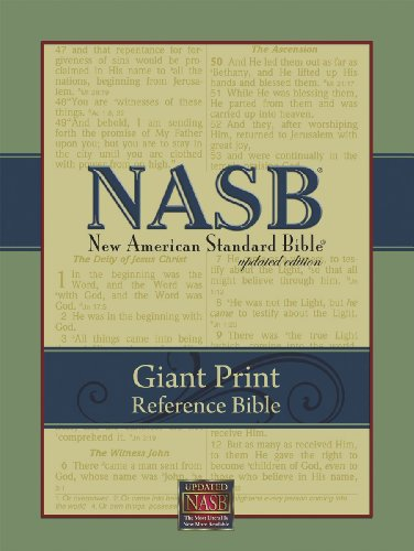 Compare Textbook Prices for NASB Giant-Print Reference Bible Burgundy Imitation Leather 1995 Edition ISBN 9781581351057 by The Lockman Foundation,The Lockman Foundation