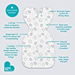 Love-To-Dream-Swaddle-UP-Rainbow-Small-8-13-lbs-Dramatically-Better-Sleep-Allow-Baby-to-Sleep-in-Their-Preferred-arms-up-Position-for-self-Soothing-snug-fit-Calms-Startle-Reflex