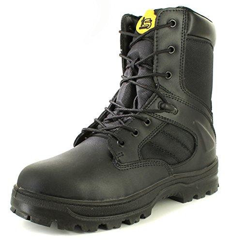 Tradesafe Drill Mens Safety Boots Black 7 UK