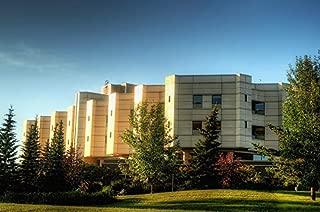 Home Comforts Hospital Edmonton Building Medical Center Canada Vivid Imagery Laminated Poster Print 11 x 17