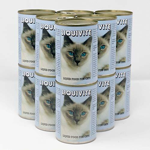 Liquivite Suppe für Katzen 12 x 395g große Dosen