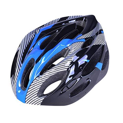 MZRI Adults Bike Helmet, Mountain Bike Helmet for Mens Womens,Ultralight Sports Helmet, Bicycle Riding Helmet (Blue)